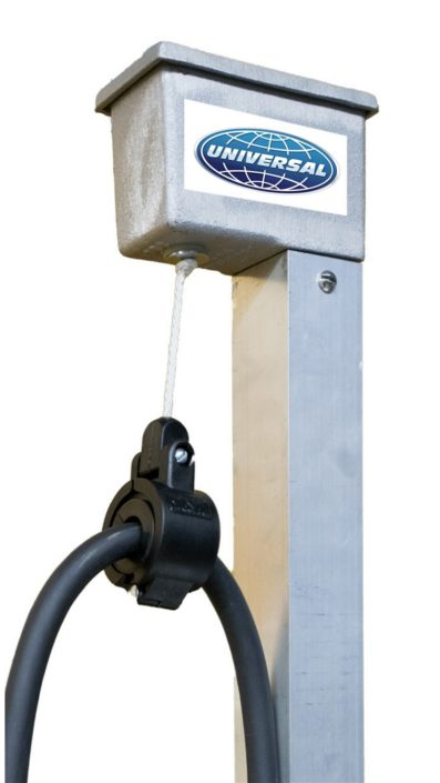 Charging Station Cord Retractor Universal Ev Solutions